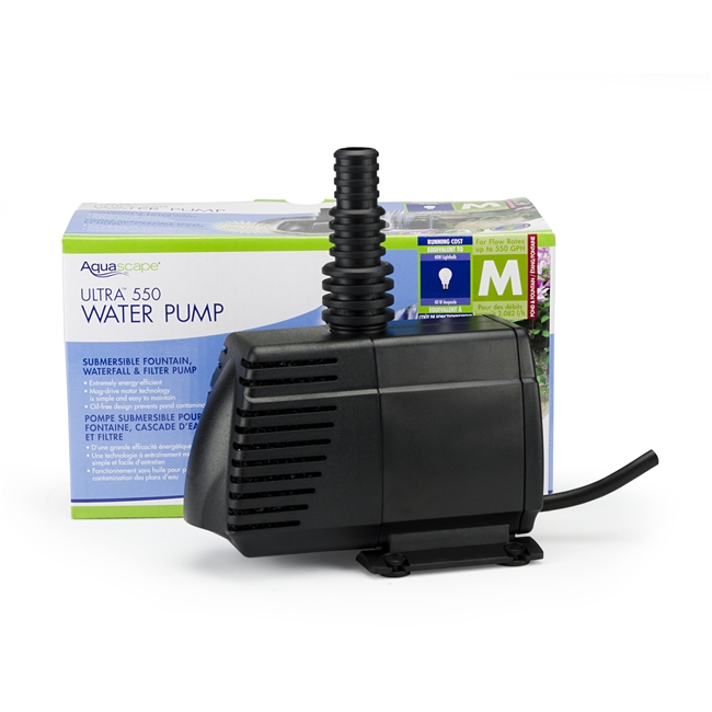 Aquascape Ultra 550 Water Pump