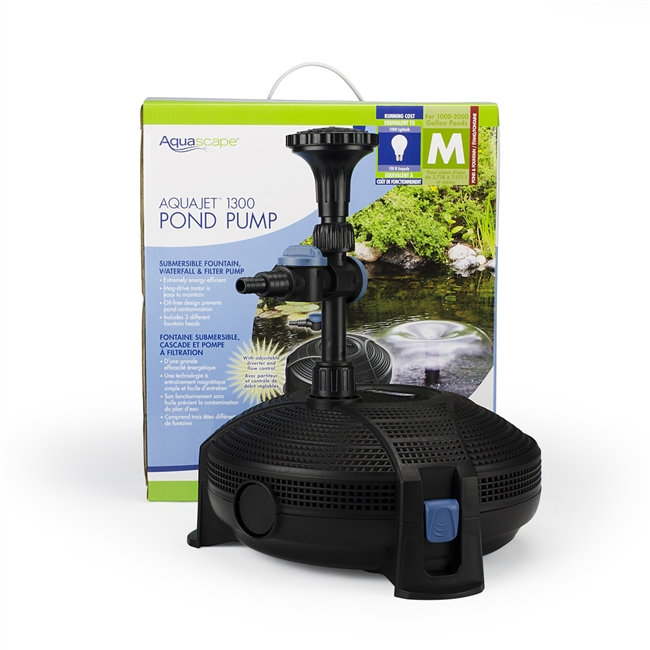Aquascape AquaJet 1300 Pond Pump