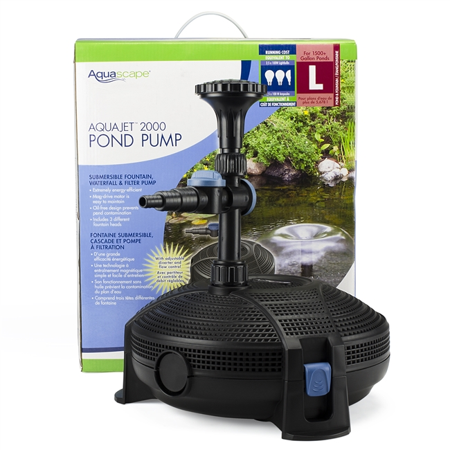 AquaJet 2000 Pond Pump