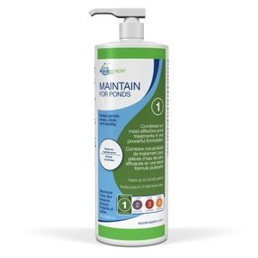 Aquascape Maintain for Ponds 32 oz for koi ponds