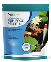Aquascape Premium Staple Pond Fish Food 1.1 lbs - Small Pellets
