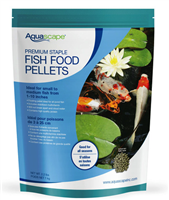 Aquascape Premium Staple Pond Fish Food 4.4 lbs. - Large Pellets