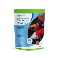 Aquascape Premium Cold Water Fish Food Pellets 2.2lbs - Medium Pellets