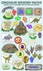 Sensory Path Dinosaur Wall Decals Home version Pre cut