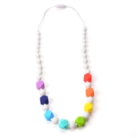 Chew Necklace Rainbow