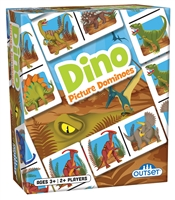 Dino Picture Dominoes
