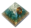Orgone Pyramid - Aquamarine throat Centre