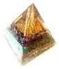 Aquamarine Orgone Extra  Large Pyramid - highest quality