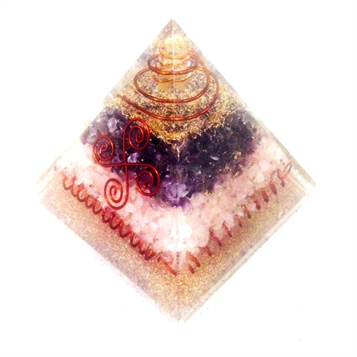 Orgone Extra Large Pyramid Electric Amp Creative Feng