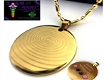 9ct Yellow Gold chain 40cm - Magnetic scalar pendant - LIMITED EDITION