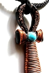 Ankh Orgone Pendant - super conductive, Love, power, strength