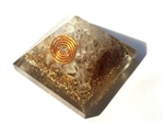 Citrine Orgone Pyramid - for wealth/creativity 4/5G