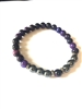 purple tiger eye deep protection bracelet
