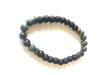 Jet stone protection grounding bracelet