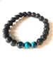 Blue Tiger eye protection bracelet