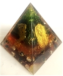 tourmaline powder orgone egyptian pyramid