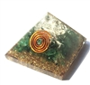 Jade Orgone Pyramid - for wealth/heart 4/5G