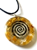 Sacred geometry energy pendant