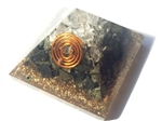 Pyrite Orgone Pyramid - for Iron/circulation 4/5G