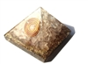 Rose Quartz Orgone Pyramid - for love /heart 4/5G