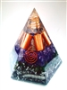 Third Eye Chakra - Orgone pyramid - lapis lazuli and pyrite (5G)