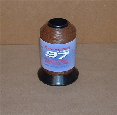 BCY DynaFlight 97 Bowstring 1/8lb Spool - Dark Brown