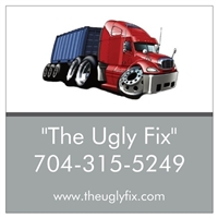 the ugly fix decal sticker for home or car window