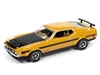 1971 Mustang Boss 351 in Medium Yellow Gold with Black Stripes and Hood - Hemmings Motor News AUTO WORLD 2020 RELEASE 4A