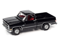 1982 Chevrolet Silverado 10 in Midnight Black   Auto World Premium - 2021 Release 2A