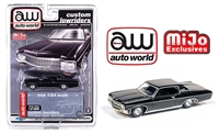 Auto World 1:64 Mijo Exclusive Custom Lowriders 1970 Chevy Impala SS Hard Top Black Limited Edition