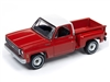 1973 Chevy Cheyenne Truck (Stepside Stock Height) (RED / WHITE ROOF)