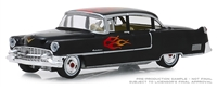 Flames The Series - 1955 Cadillac Fleetwood Series 60 Special in Black with Flames