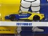 GREENLIGHT 2017 Ford GT Michelin Tires IN BLUE/YELLOW