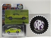 GREENLIGHT 1970 PLYMOUTH HEMI 'CUDA BF GOODRICH AD CAR IN LIME GREEN