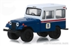 United States Postal Service - 1971 Jeep DJ-5 in Blue with White Roof