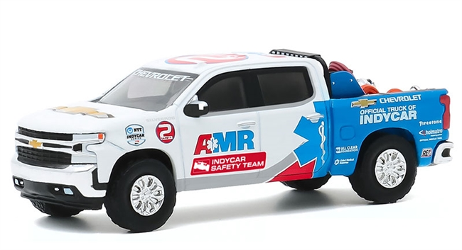 2020 NTT IndyCar Series AMR Safety Team - 2020 Chevrolet Silverado with Safety Equipment in Truck Bed GREENLIGHT