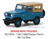 1968 Nissan Patrol in Mt. Fuji Blue