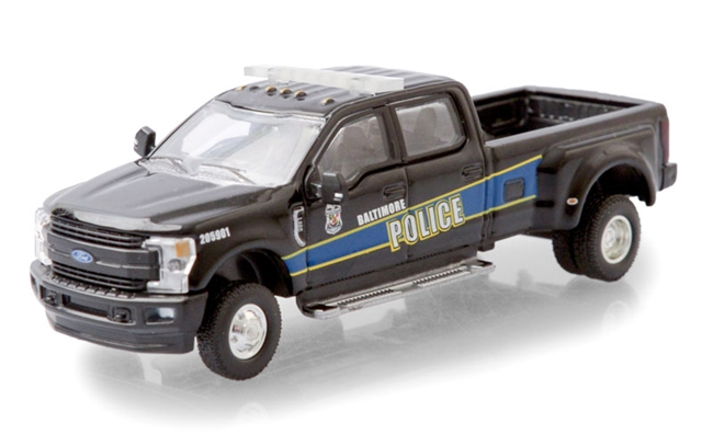 Baltimore, Maryland Police Department Mounted Unit 2019 Ford F-350 Dually GREENLIGHT Dually Drivers Series 5