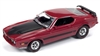 JOHNNY LIGHTNING 1973 Ford Mustang Mach 1 in Bright Red Metallic