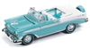 JOHNNY LIGHTNING 1956 Chevrolet Bel Air Convertible in Pinecrest Green