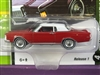 1969 Lincoln Continental Candy Apple Red with White Top