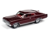 1967 Dodge Charger in Dark Red Poly JOHNNY LIGHTNING JLCG021 B