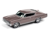 1967 Dodge Charger in Mauve Poly JOHNNY LIGHTNING JLCG021 B