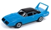 1970 Plymouth Superbird in Petty Blue with Black Roof JOHNNY LIGHTNING
