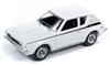 1971 AMC Gremlin X in White with Black Stripes JOHNNY LIGHTNING
