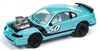 1994 Ford Mustang in Metallic Green and Blue - Spoilers JOHNNY LIGHTNING STREET FREAKS