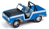 1968 Ford Bronco in Gloss Blue and White- Off Road JOHNNY LIGHTNING STREET FREAKS