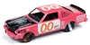 1976 Dodge Aspen in Salmon of Capistrano Pink - Demolition Derby JOHNNY LIGHTNING STREET FREAKS