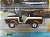 1968 Ford Bronco in Cocoa Metallic and Tan- Off Road STREET FREAKS JOHNNY LIGHTNING