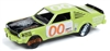 1976 Dodge Aspen in Medium Yellow Green - Demolition Derby  JOHNNY LIGHTNING STREET FREAKS